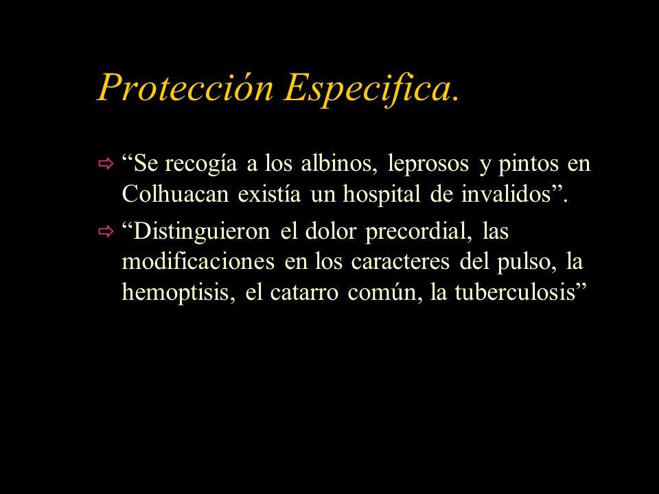 Protección Especifica.