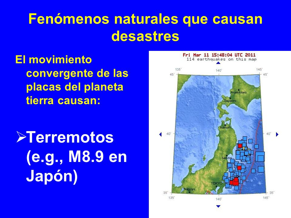 Fenómenos naturales que causan desastres