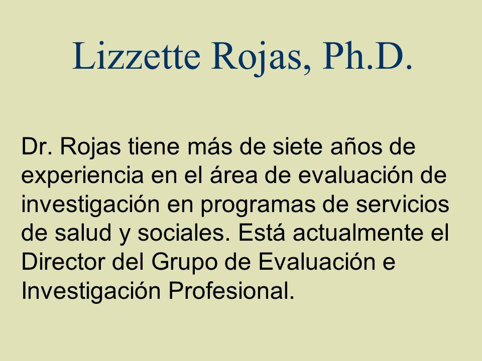 Lizzette Rojas, Ph.D.