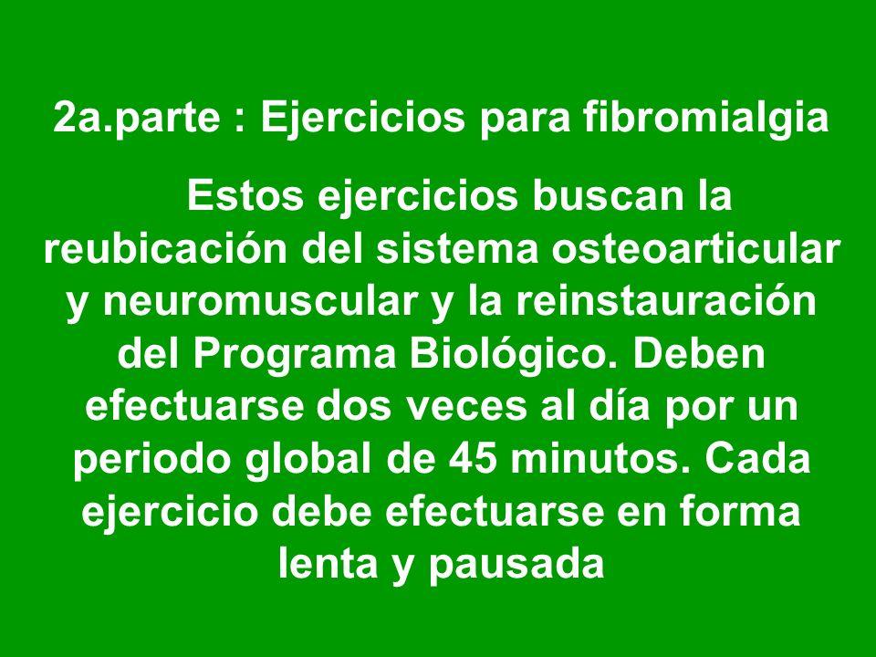 2a.parte : Ejercicios para fibromialgia