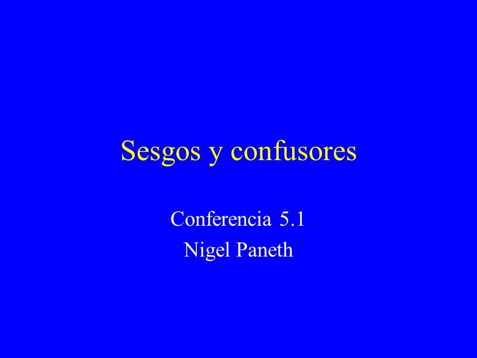 Conferencia 5.1 Nigel Paneth