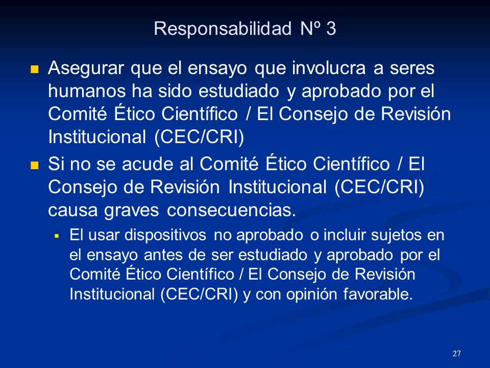 Responsabilidad Nº 3