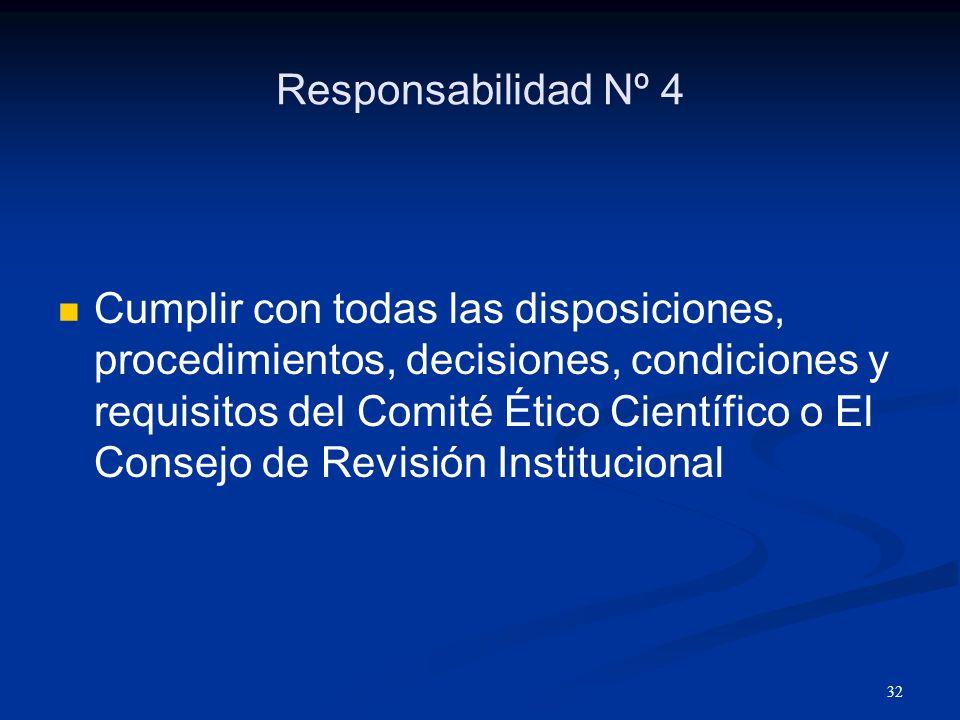 Responsabilidad Nº 4