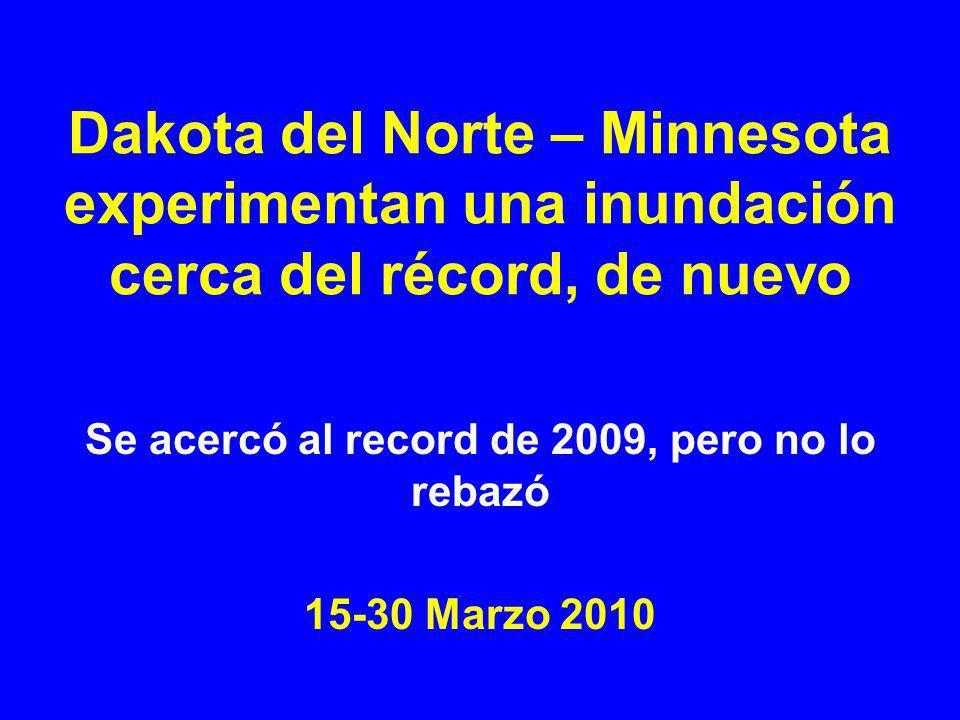 Se acercó al record de 2009, pero no lo rebazó 15-30 Marzo 2010