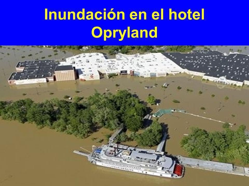 Inundación en el hotel Opryland