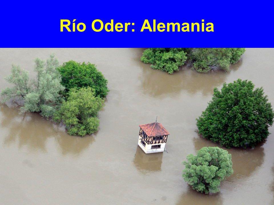 Río Oder: Alemania