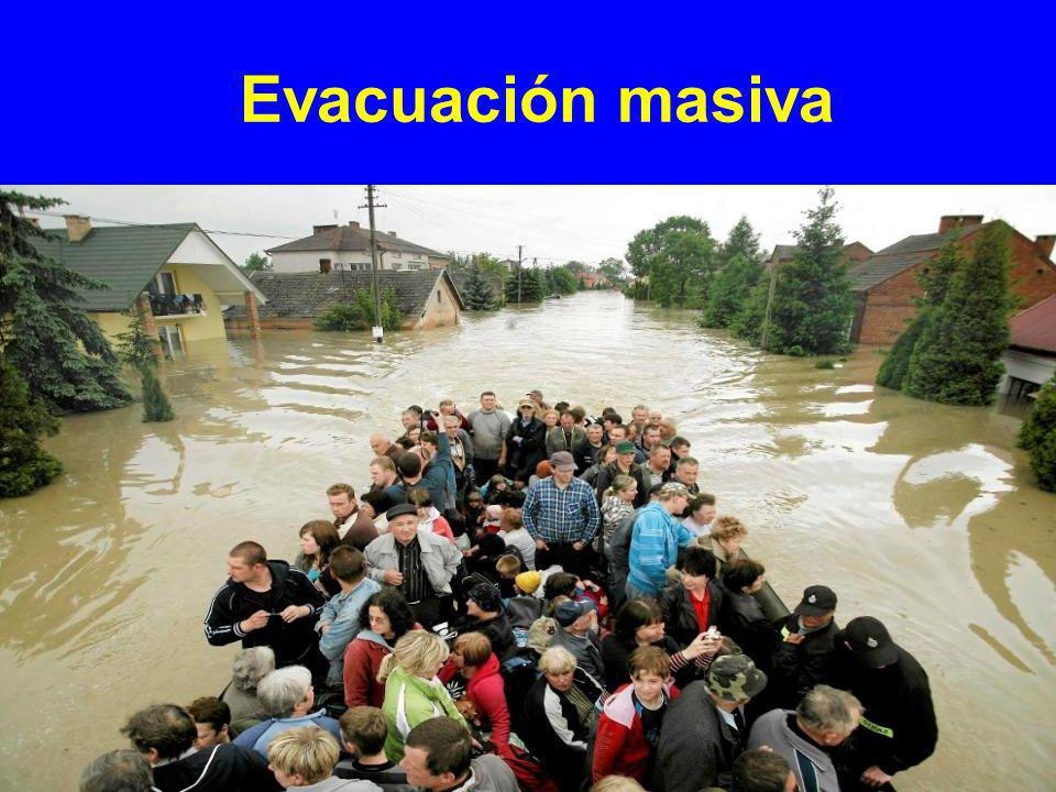 Evacuación masiva