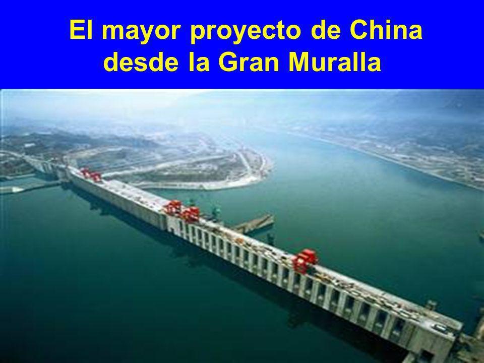 El mayor proyecto de China desde la Gran Muralla