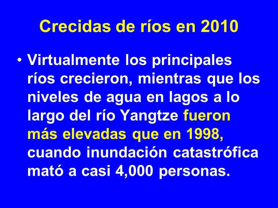 Crecidas de ríos en 2010