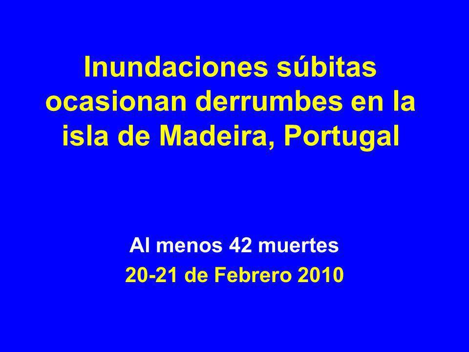 Al menos 42 muertes 20-21 de Febrero 2010