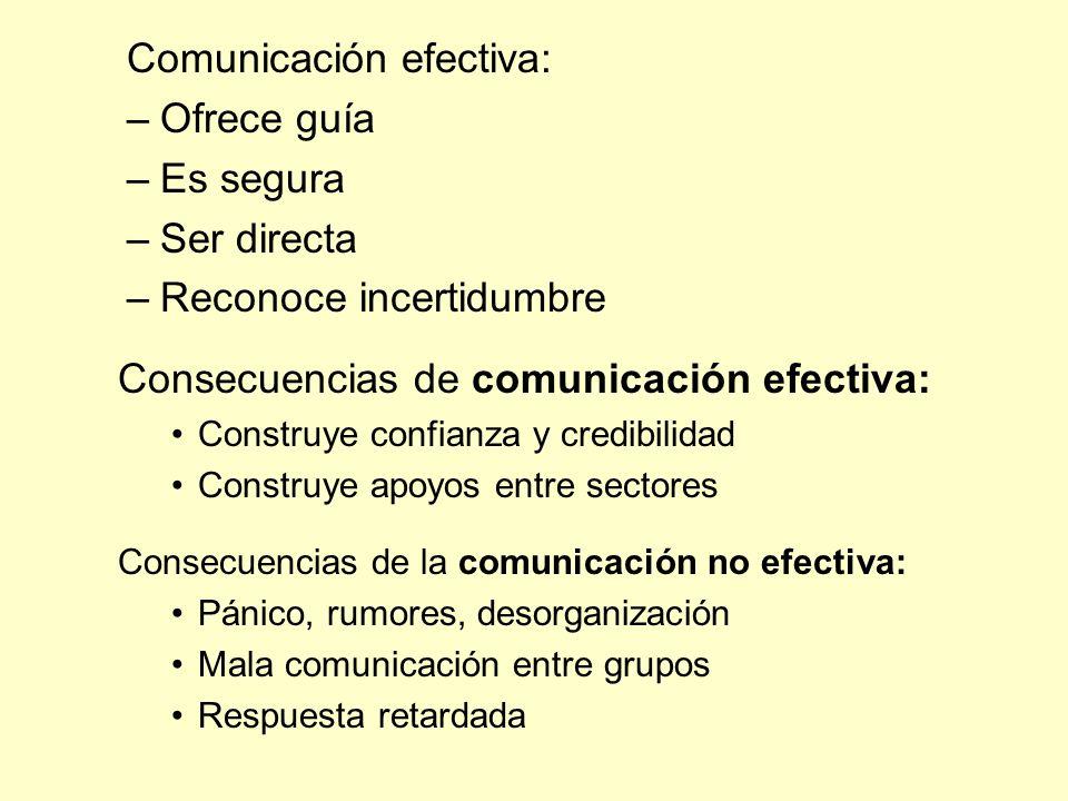 Comunicación efectiva: Ofrece guía Es segura Ser directa