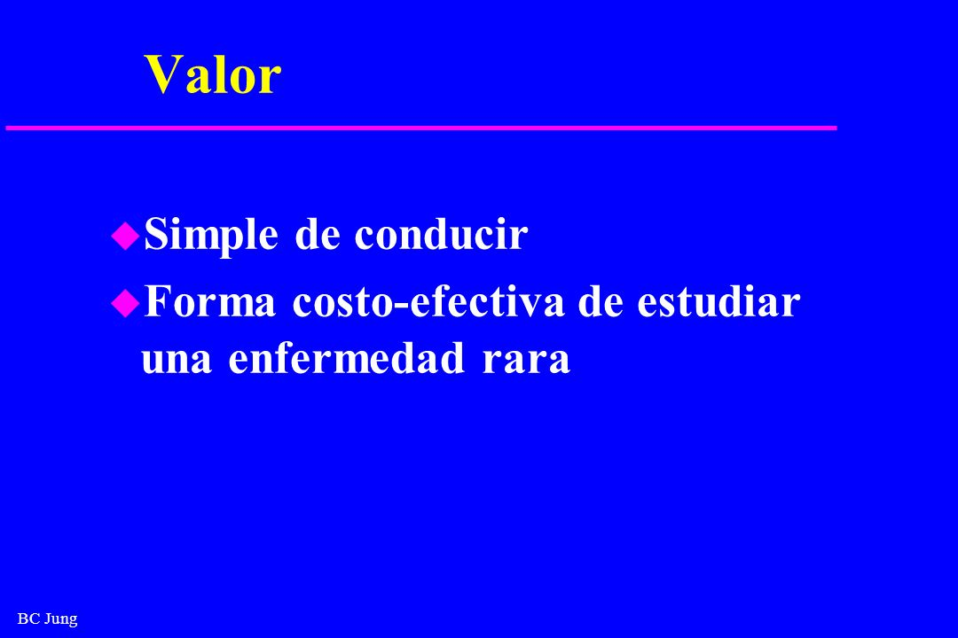 Valor Simple de conducir