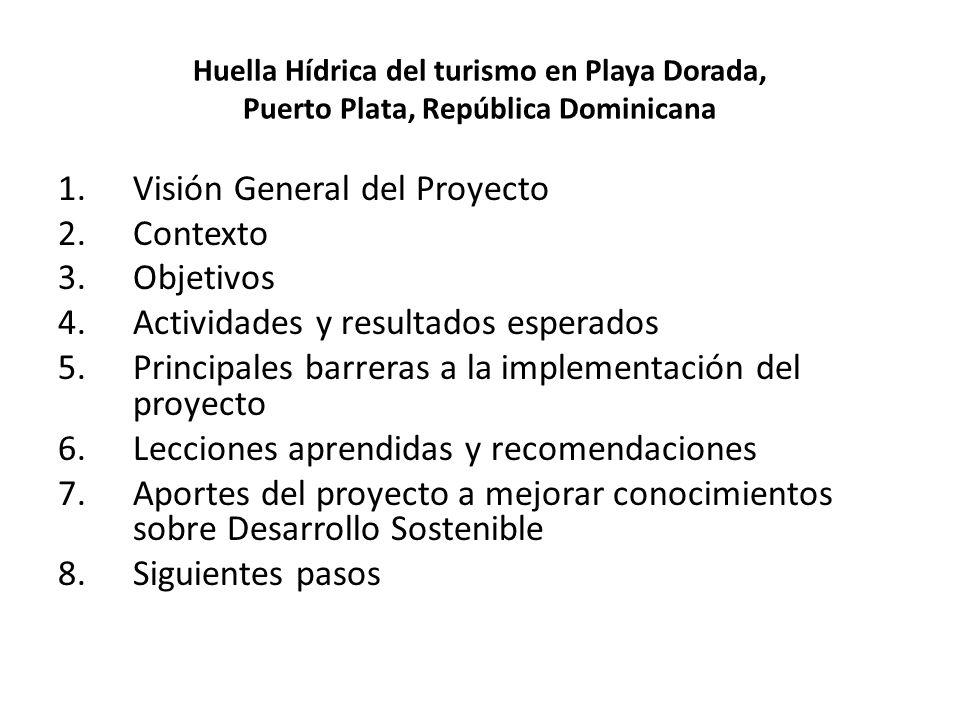 Visión General del Proyecto Contexto Objetivos