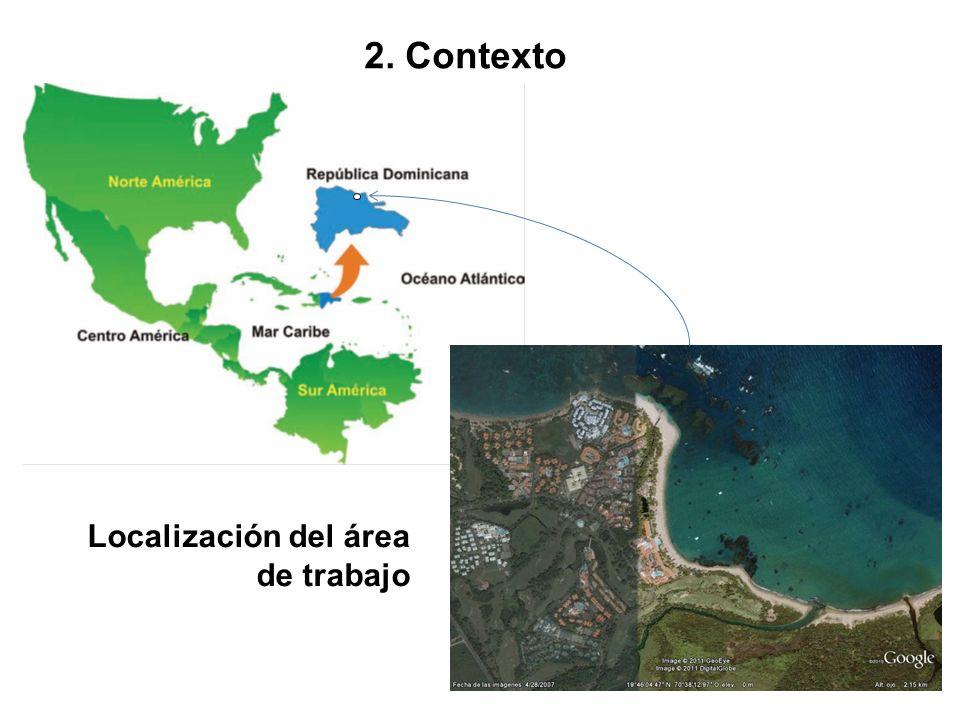 2. Contexto Localización del área de trabajo