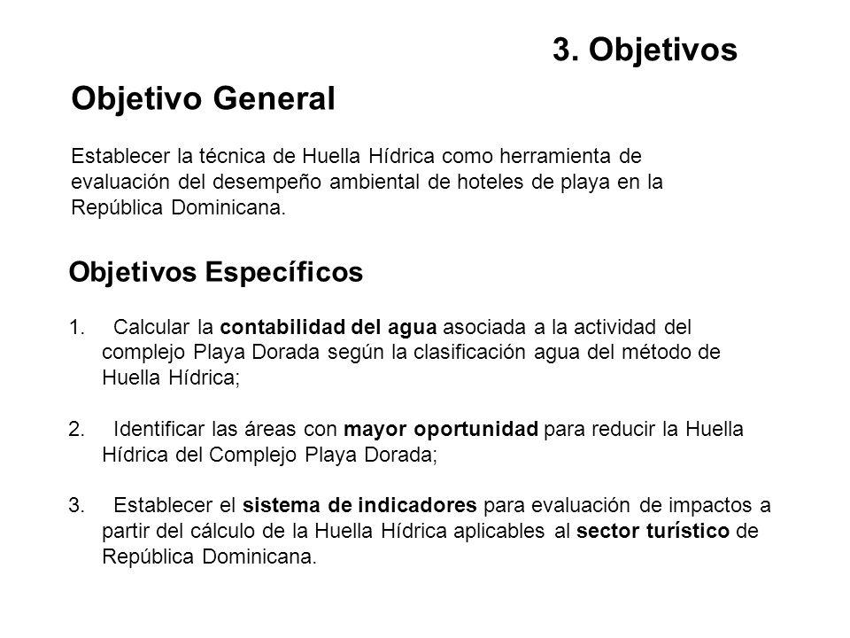 3. Objetivos Objetivo General Objetivos Específicos