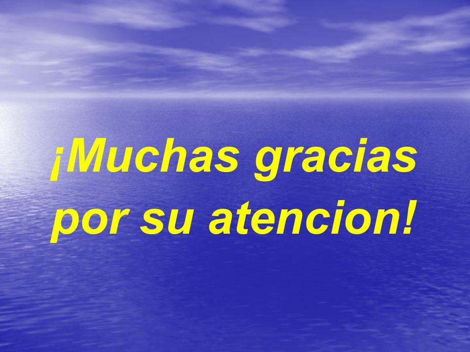¡Muchas gracias por su atencion!