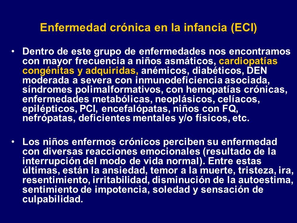 Enfermedad crónica en la infancia (ECI)
