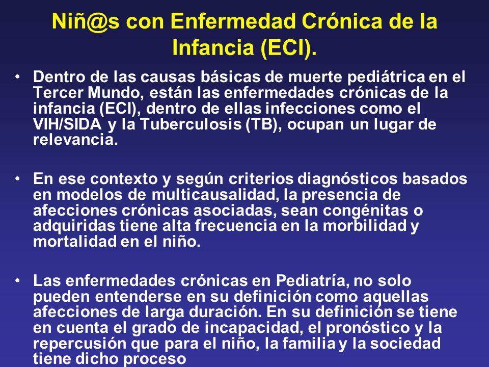 Niñ@s con Enfermedad Crónica de la Infancia (ECI).