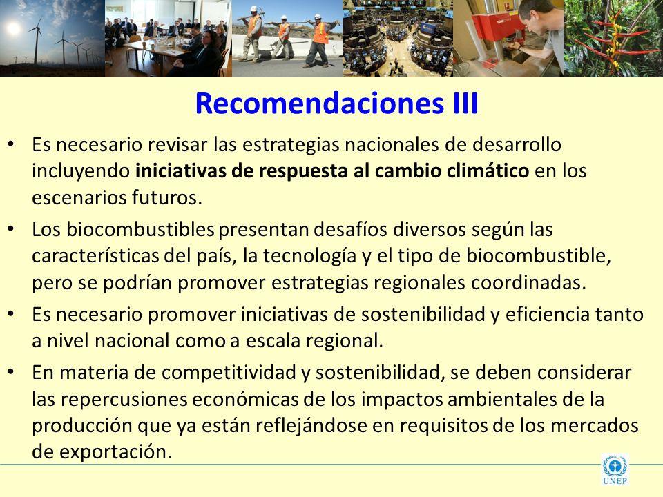 Recomendaciones III