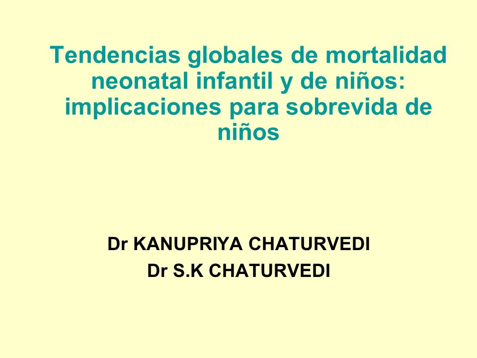 Dr KANUPRIYA CHATURVEDI Dr S.K CHATURVEDI