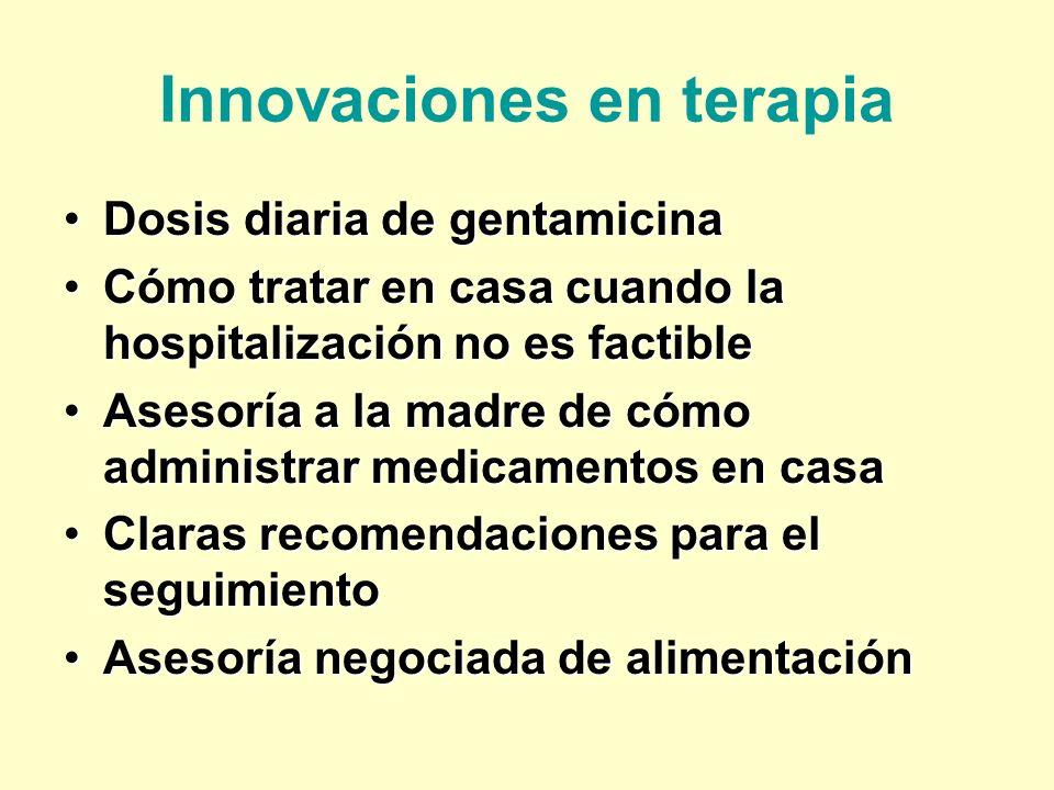 Innovaciones en terapia