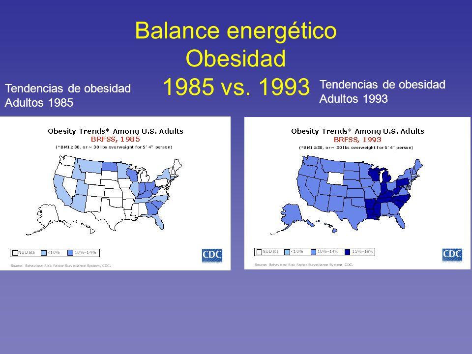 Balance energético Obesidad