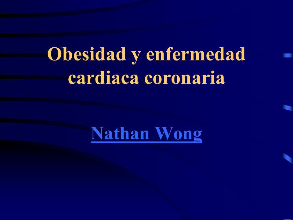 Obesidad y enfermedad cardiaca coronaria