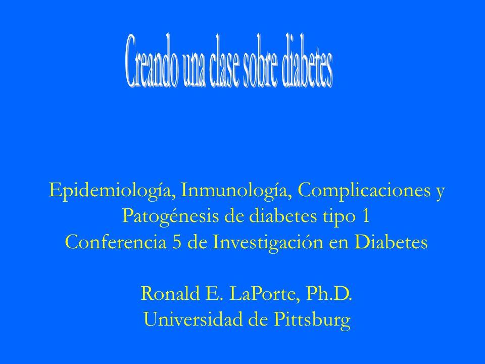 Creando una clase sobre diabetes