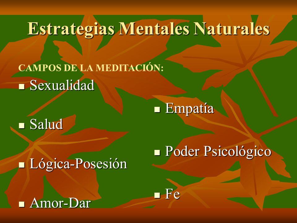 Estrategias Mentales Naturales