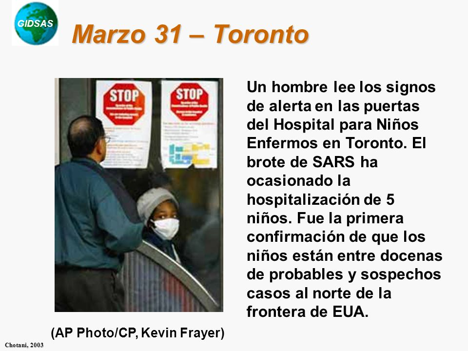 Marzo 31 – Toronto