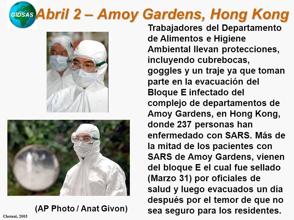 Abril 2 – Amoy Gardens, Hong Kong