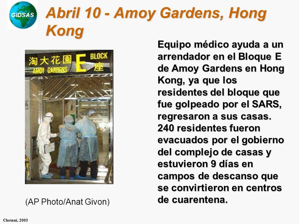Abril 10 - Amoy Gardens, Hong Kong