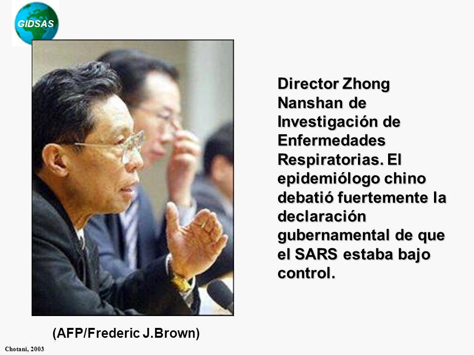 Director Zhong Nanshan de Investigación de Enfermedades Respiratorias