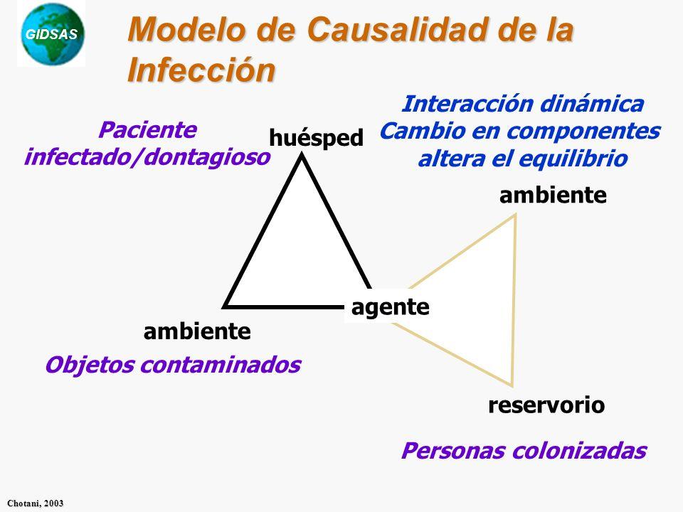 Modelo de Causalidad de la Infección