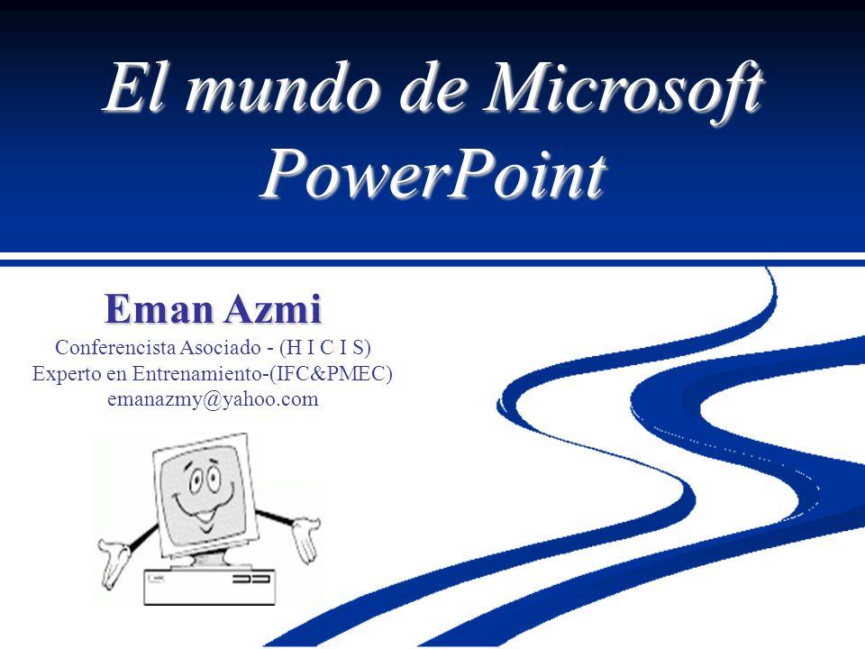 El mundo de Microsoft PowerPoint