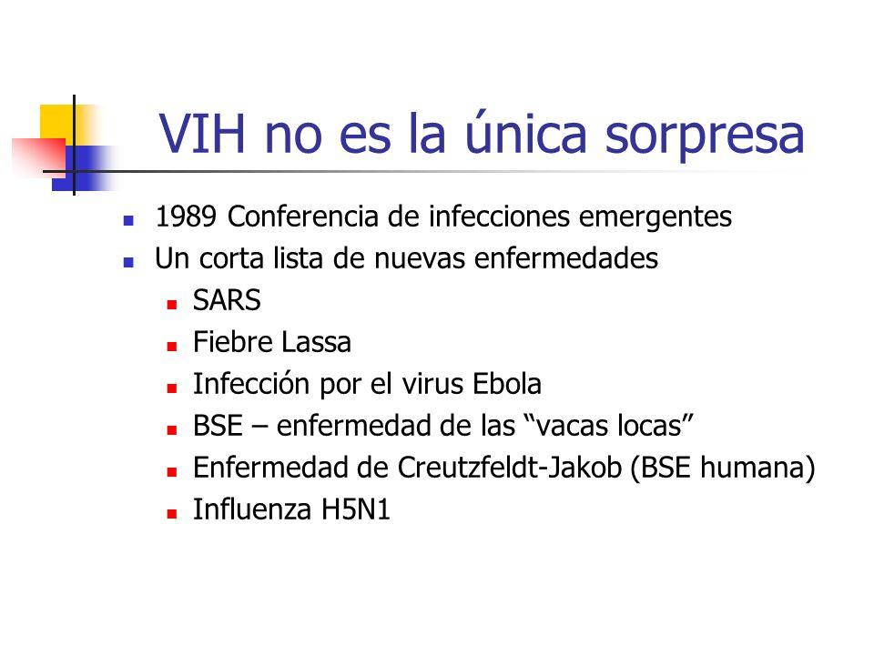 VIH no es la única sorpresa