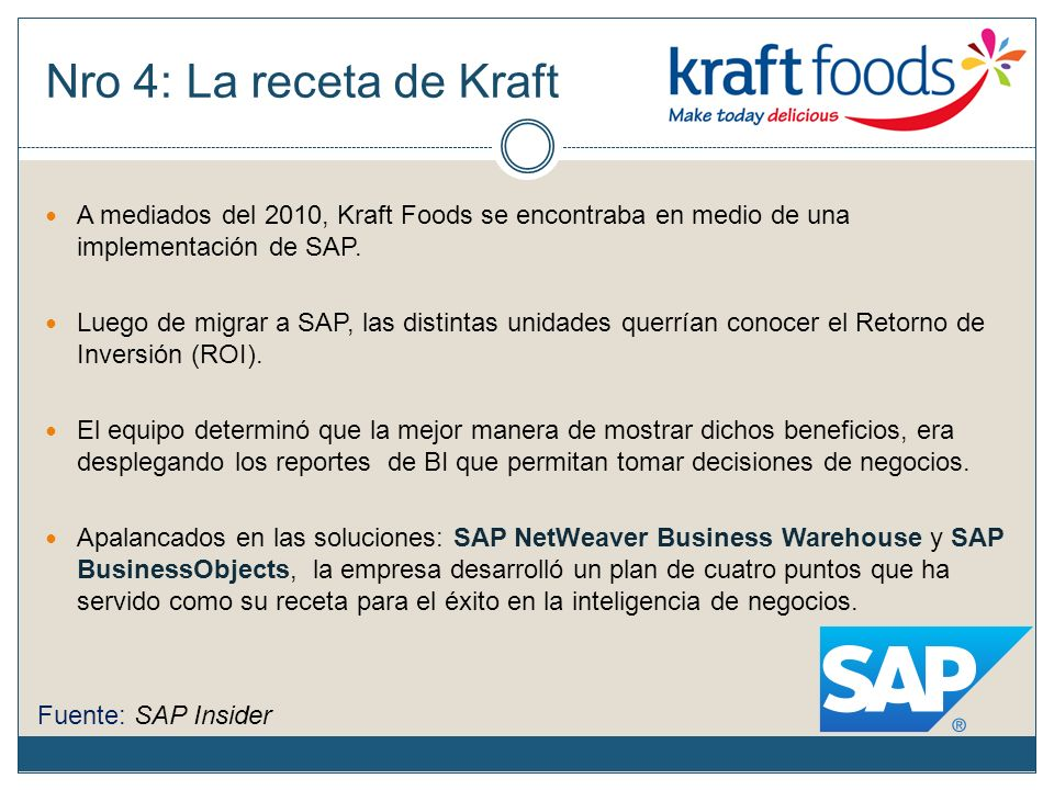 Kraft food company strategy implementation