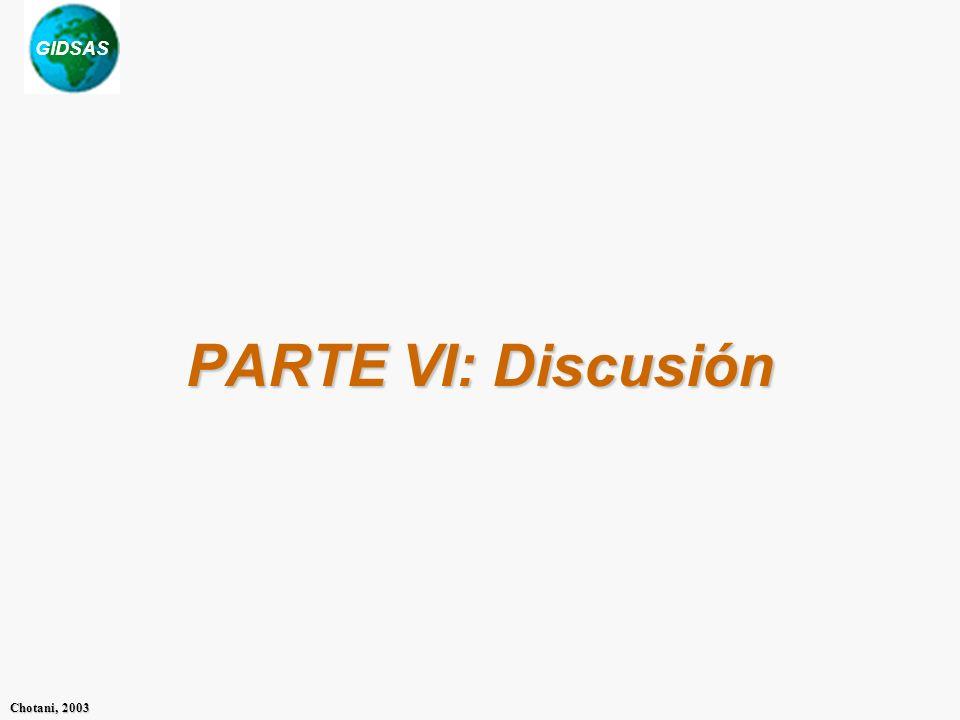 PARTE VI: Discusión