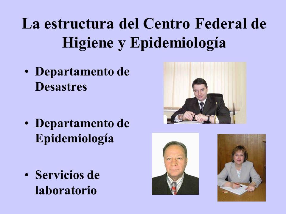 La estructura del Centro Federal de Higiene y Epidemiología