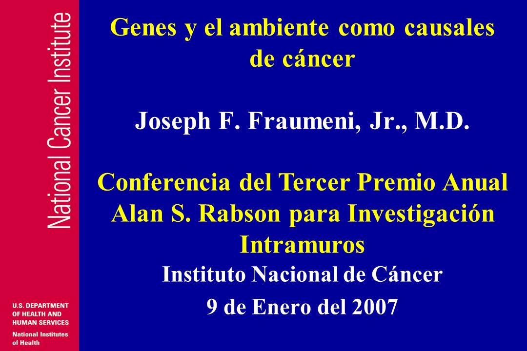 Instituto Nacional de Cáncer 9 de Enero del 2007
