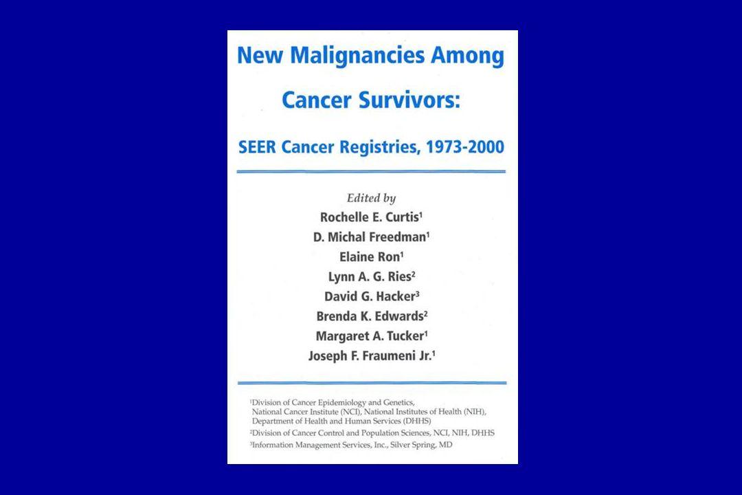 La susceptibilidad genética también puede acontecer en cáncer múltiple fuera de las familias de alto riesgo.