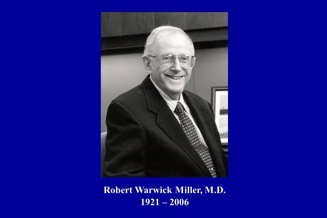 Robert Warwick Miller, M.D.