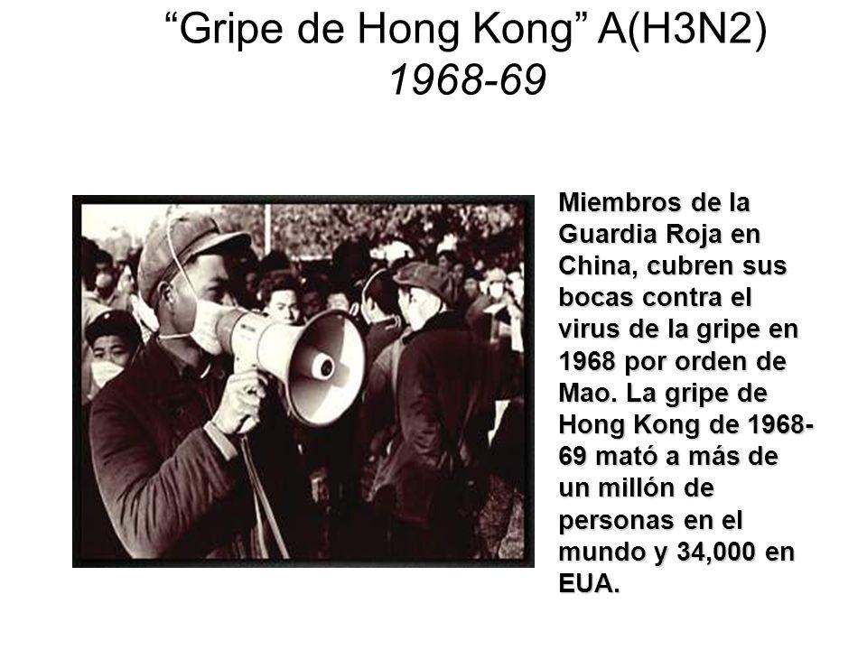 Gripe de Hong Kong A(H3N2) 1968-69