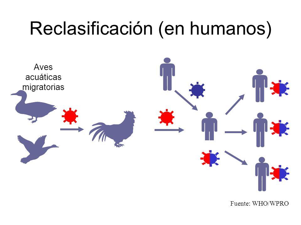 Reclasificación (en humanos)