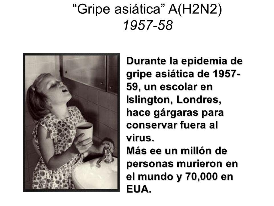 Gripe asiática A(H2N2) 1957-58