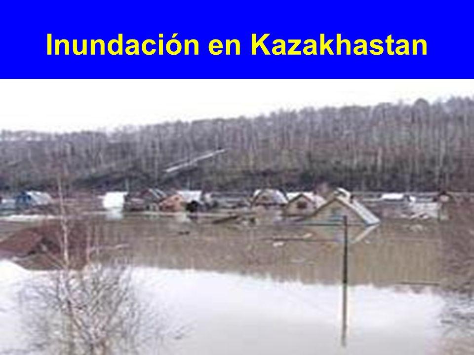 Inundación en Kazakhastan