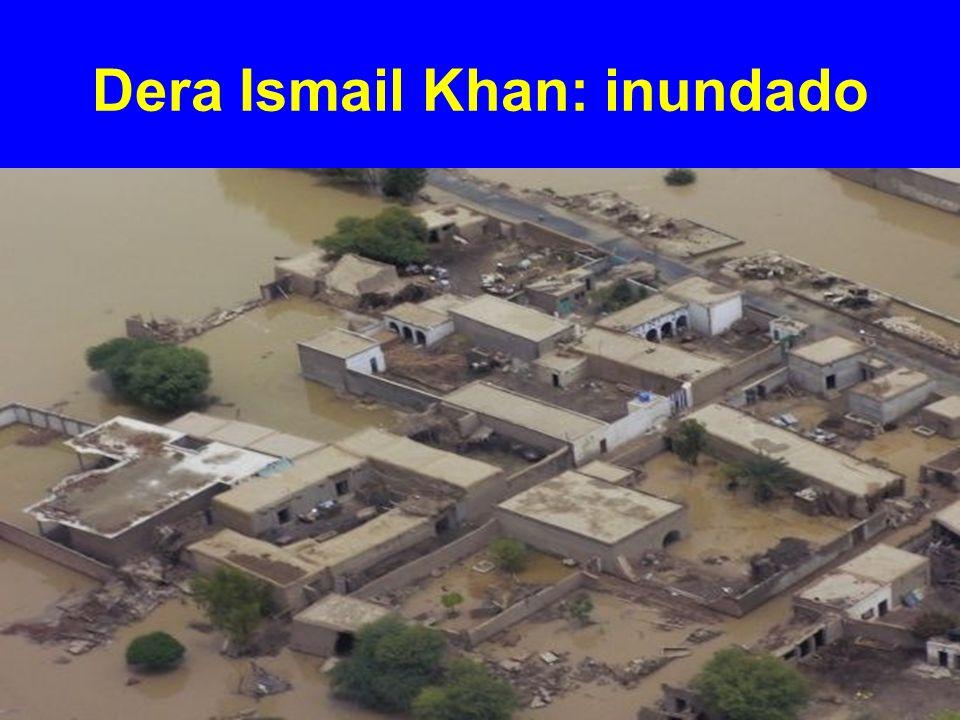 Dera Ismail Khan: inundado