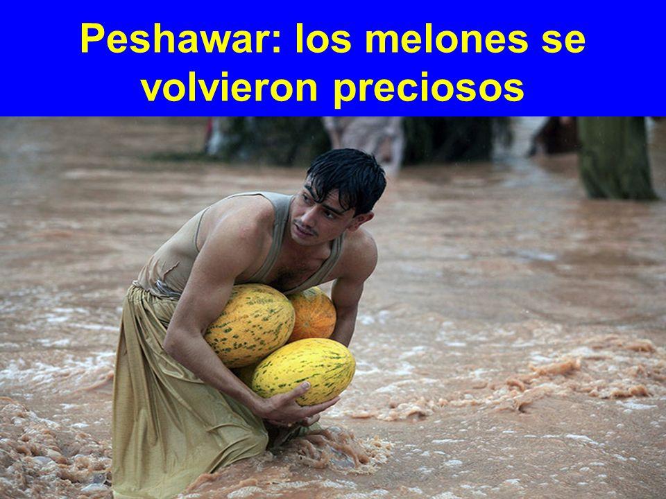 Peshawar: los melones se volvieron preciosos