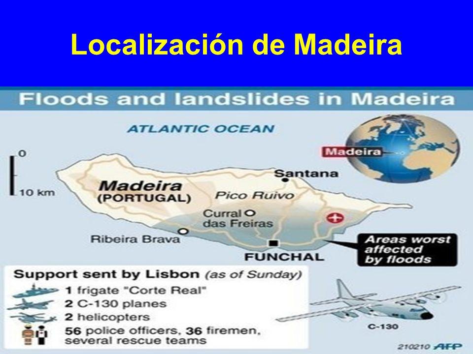Localización de Madeira