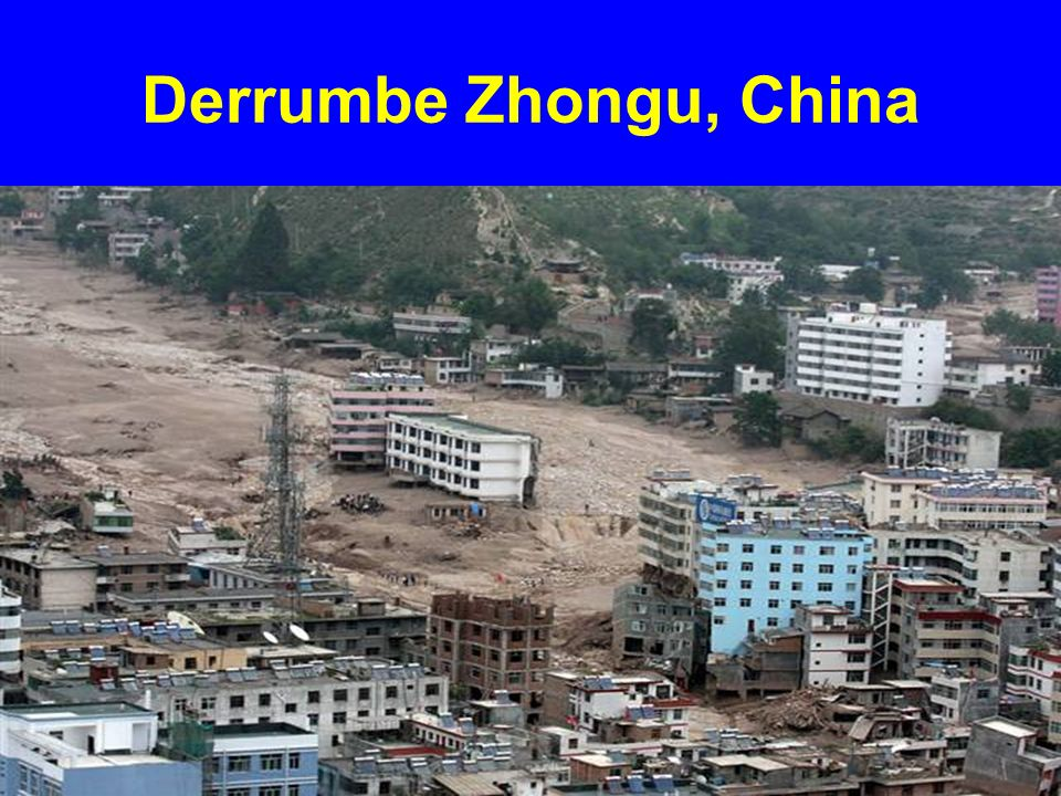 Derrumbe Zhongu, China